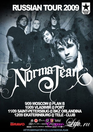 NORMA JEAN RUSSIAN TOUR